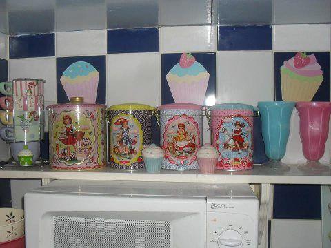 69 best cupcake kitchen images on Pinterest | Cupcake kitchen ...