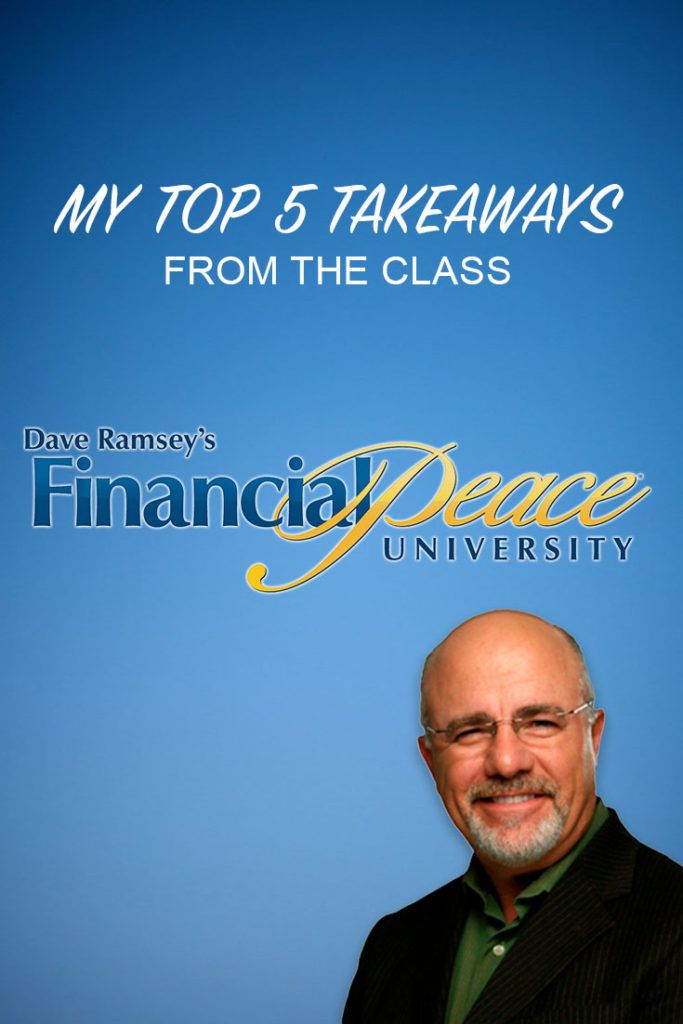financial peace university with dave ramsey