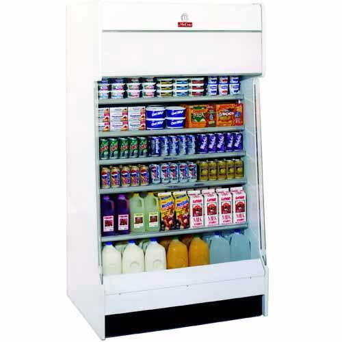 "Howard McCray (HAP46-2) - 46"" Multi-Purpose Open Merchandiser 