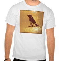 GOLDEN BIRDS OF PREY  eagle falcon hawk Tee Shirt