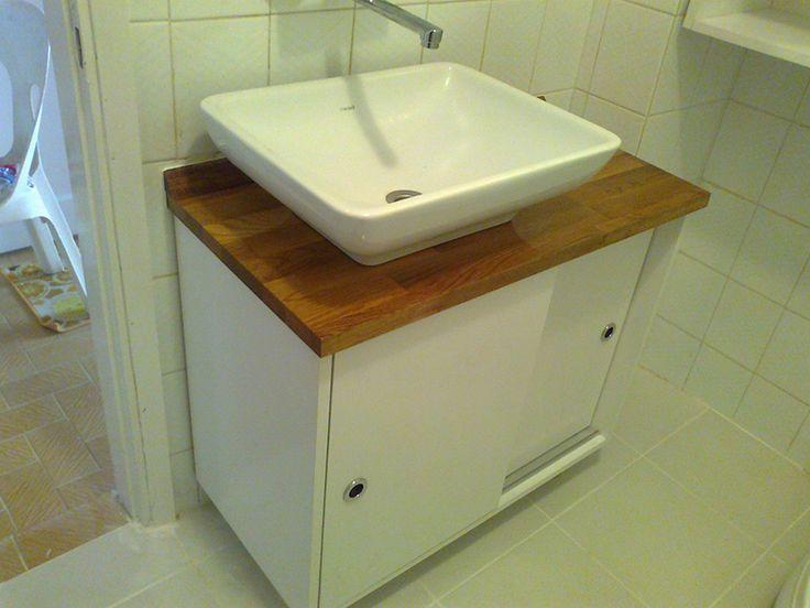 Masif Banyo Tezgahı  ahşap mutfak tezgahı   masif mutfak tezgahları   www.masiftezgah.com 02122525667