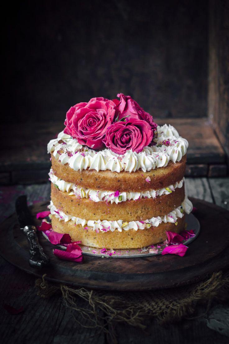 Honey and Poppy Seed cake