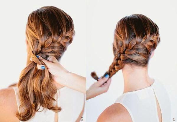 tutorial penteado de festa