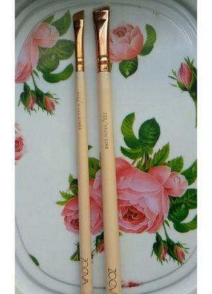 Kaufe meinen Artikel bei #Kleiderkreisel http://www.kleiderkreisel.de/kosmetik/schminke-zubehor/134203920-zoeva-eyeliner-pinsel-und-augenbrauen-pinsel