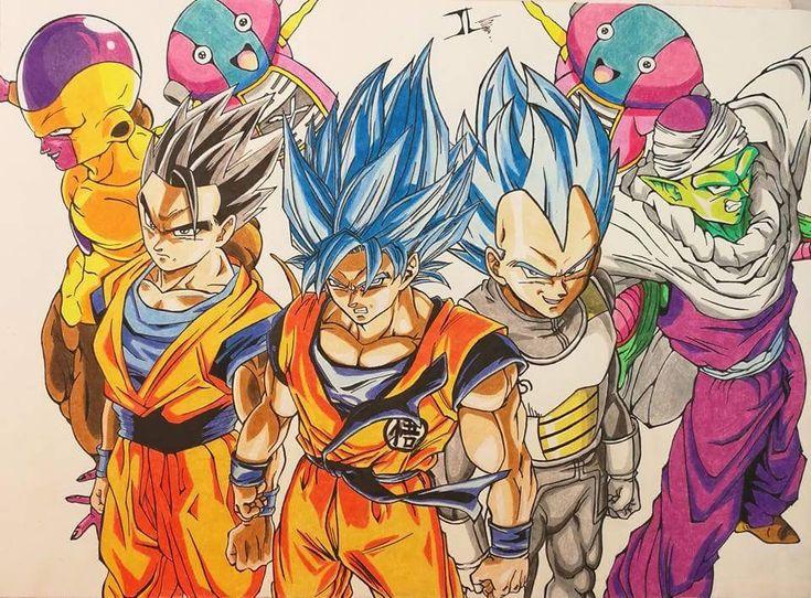 Golden Frieza x Gohan x Goku x Vegeta x Piccolo x Zenos