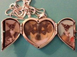 Cheryl of Arizona was so happy with her new Big Angel Locket especially because she could fit 3 pictures inside.  http://www.heartsmith.com/big-angel-locket.html