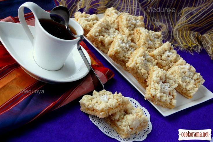 Кучерявое постное печенье