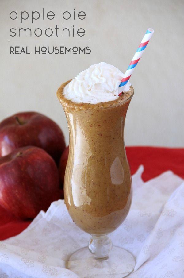 Apple Pie Smoothies   Real Housemoms