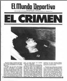 24 settembre 1983. Il giorno in cui Goikoetxea ruppe la caviglia a Maradona (Mundo Deportivo)