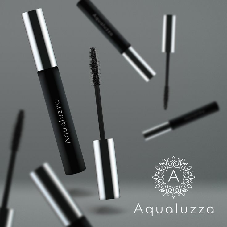 The Jet Black Waterproof Mascara from Aqualuzza. 😍 It's even waterproof and super long-lasting. That means you won't have to deal with running mascaras and smears even if you get wet! Shop on Aqualuzza.com! #mascara #makeup #beauty #eyelashes