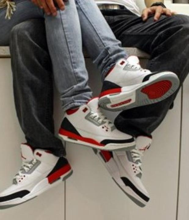 couple with jordans. presh.
