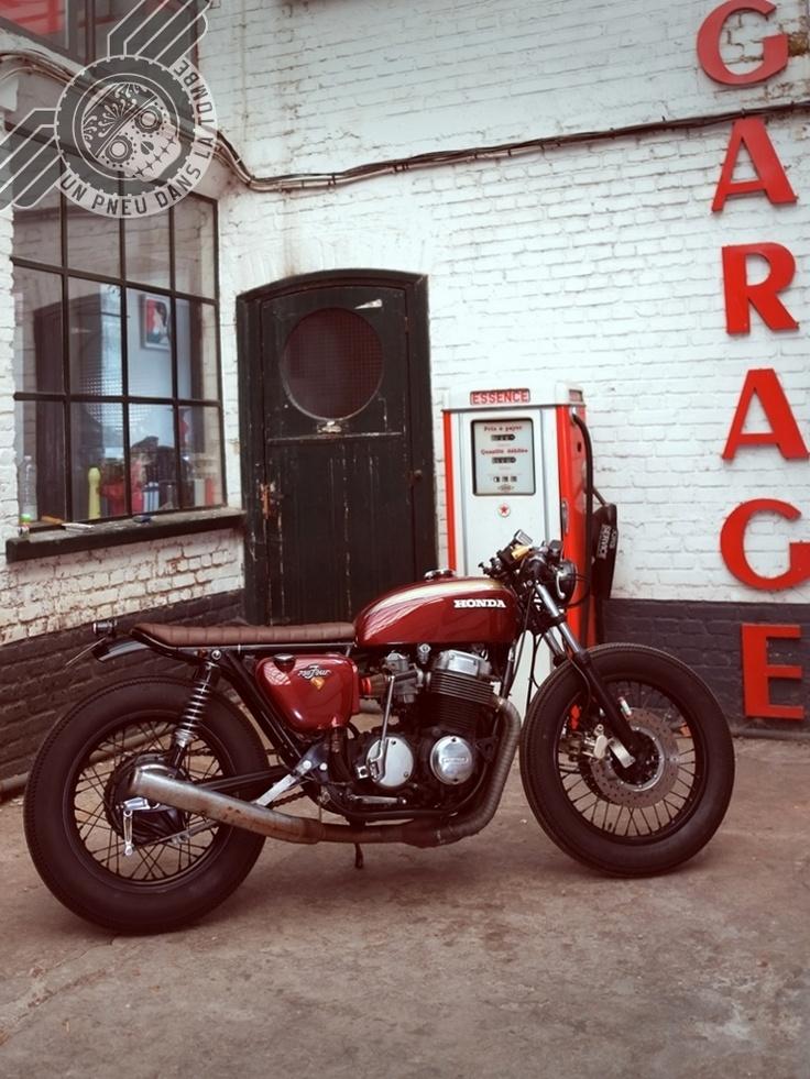 Honda CB750 Brat Cafe Racer