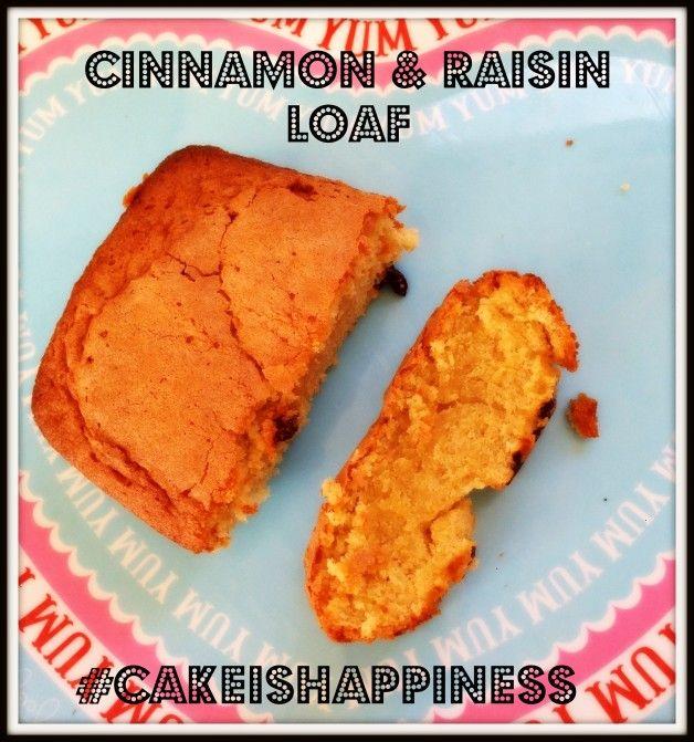Cinnamon and raising cake