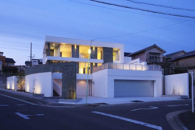 風光と上質感が薫る家 混構造の家