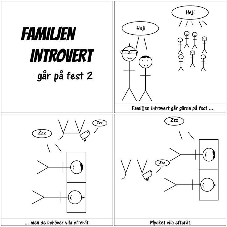 går på fest 2 | Familjen Introvert