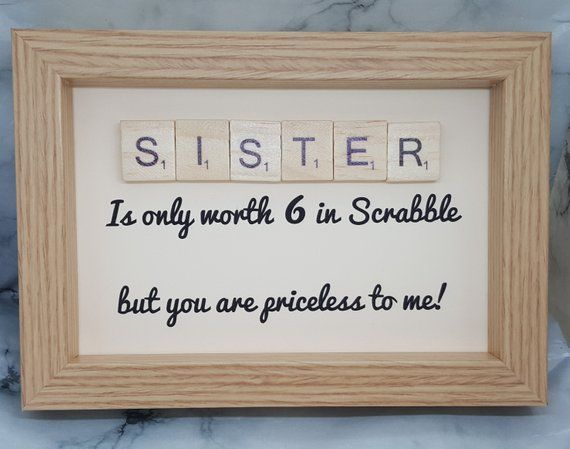 First Day at School Personalised Scrabble Frame-Ajouter votre propre photo