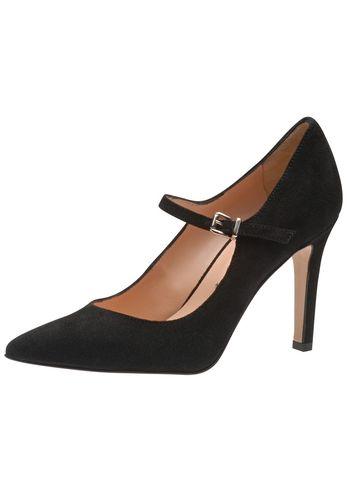 Ein Traum von Schuh: Der neue Damenpumps aus dem Hause Evita betört mit sinnlicher Silhouette und einem atemberaubenden Absatz. Für ultimativen Halt und den besonderen Retrolook sorgt das schmale Riemchen über dem Rist. Ladys mit Anspruch an Design und Verarbeitung werden diesen Style handmady in Italy lieben! Evita - Leidenschaft für italienische Schuhe und Accessoires Absatzhöhe 9 cm Absatzart Stiletto Hinweis Fällt passend aus!