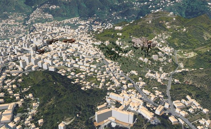 Plastico Virtuale della città di Massa, Massa, 2010 - GeoInformatiX, Alberto Antinori