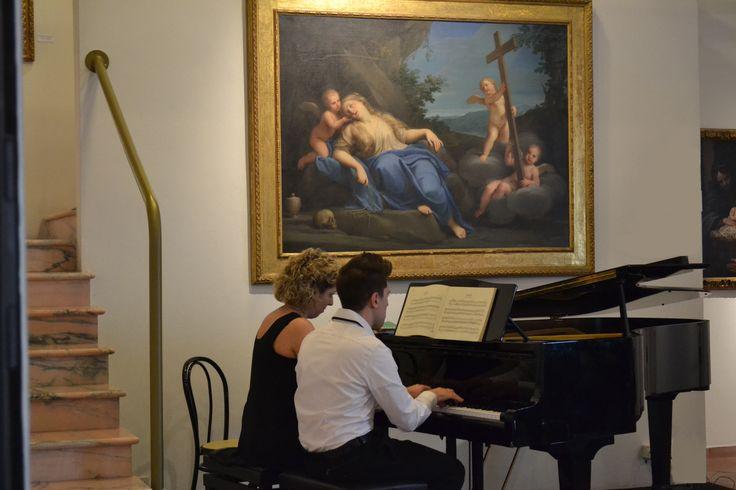 """Concerto 29 marzo: """"Sonate e Danze"""" con musiche di Mozart, Donizetti, Brahms, Grieg. Sala del Francia - Ca' la Ghironda ModernArtMuseum"""