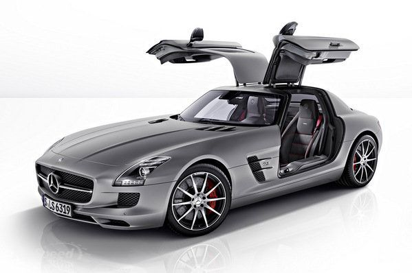 It's like back to the future  2013 Mercedes-Benz SLS AMG GT