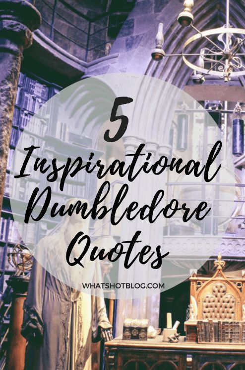 5 Motivational Quotes from Dumbledore To Get You Through Monday - Let the wise words of Albus Dumbledore inspire you this week // Harry Potter Quotes // Dumbledore quotes // Monday Motivation // Motivational Quotes // Inspirational Quotes