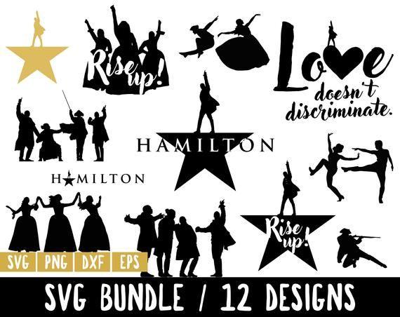 Hamilton Svg Hamilton Vector Hamilton Bundle American Musical Broadway Rise Up Svg Love Doesn Svg Hamilton Hamilton Logo