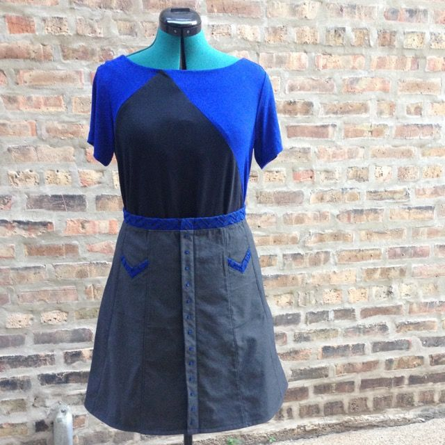 Saltbox Shirt and Melissa Skirt Front