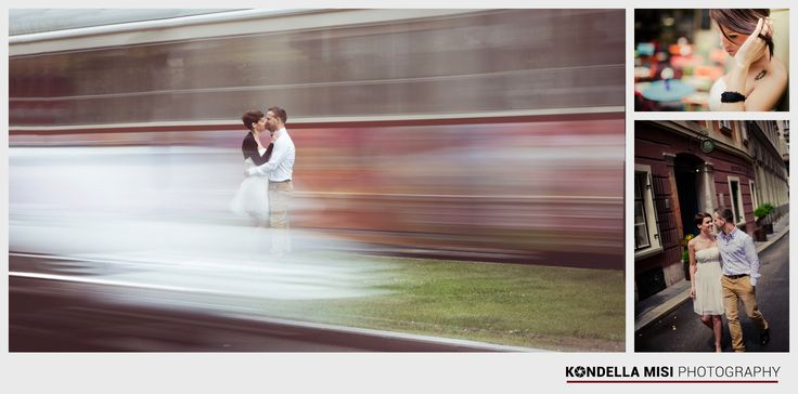 Budapest e-session #engagement #photoshoot #tram #Hungary