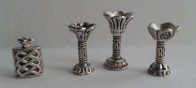 Czar miniatur: Miniaturowe kielichy - DIY