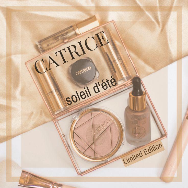 Catrice soleil 'dété Limited Edition 2017 - Review, Swatches & Make Up Look