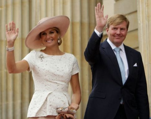 Queen Máxima, Nov. 22, 2013 in Fabienne Delvigne | The Royal Hats Blog