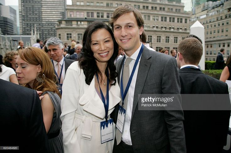 Wendi Murdoch and Jared Kushner attend FOUNDERS CLUB New York & BARRY DILLER welcome TIM ARMSTRONG & JON MILLER at Roof Garden on June 4, 2008 in New York.