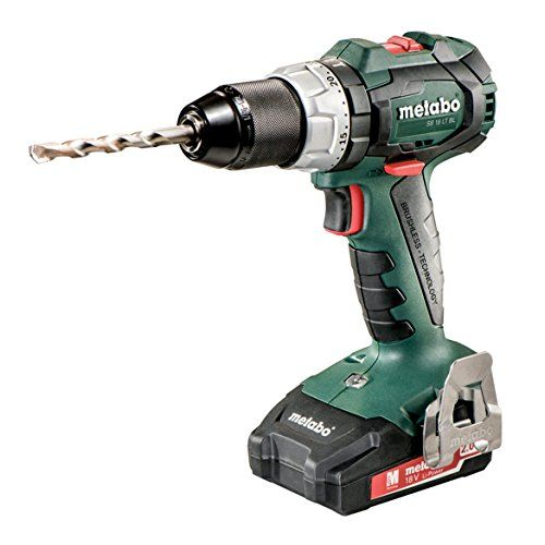 Metabo SB 18 LT BL 2x 2.0kit 18V Brushless Hammer Drill/Driver 2.0Ah Kit https://bestcompoundmitersawreviews.info/metabo-sb-18-lt-bl-2x-2-0kit-18v-brushless-hammer-drilldriver-2-0ah-kit/