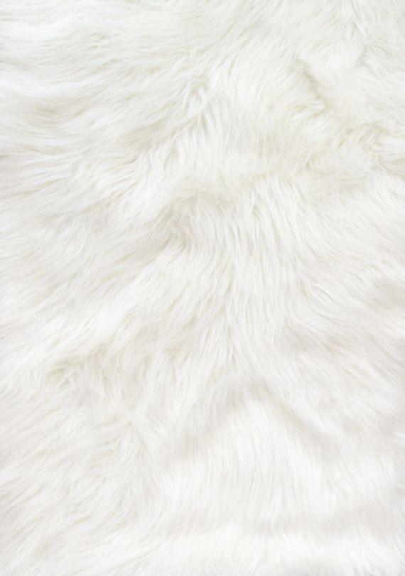 Shaggy White Long Pile Faux Fur Fabric By The Yard 60 Wide Planos De Fundo Cenarios De Fotografia Fundo Para Fotografia