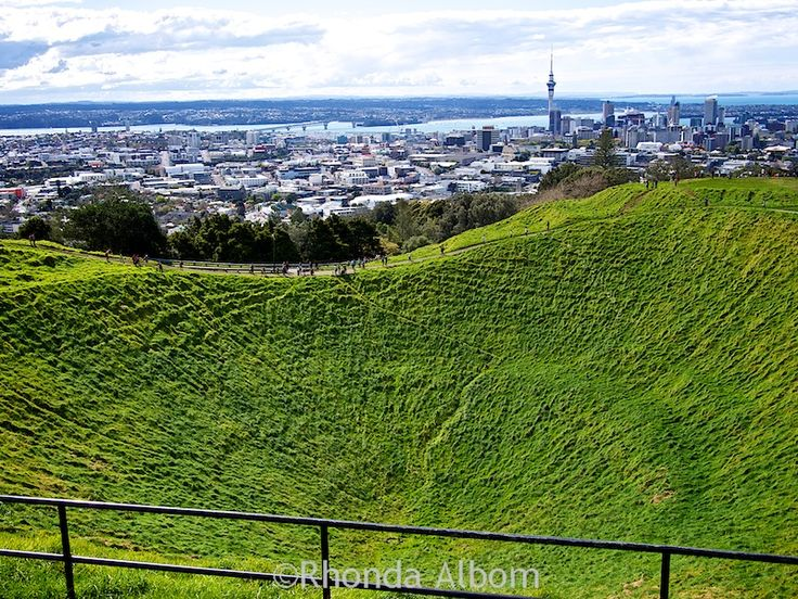 Making the effort to complete the easy hike up the extinct Mount Eden volcano is…