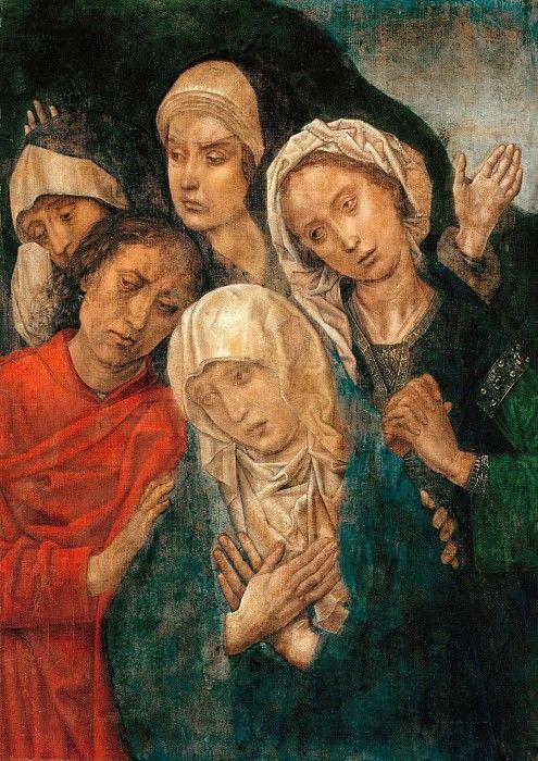 Гус, Хуго ван дер (ок1425-1482) - Оплакивание Христа.