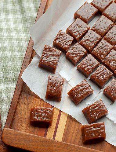 Irish Whiskey Salted Caramels from Cheese and Chocolate #caramel #whiskey