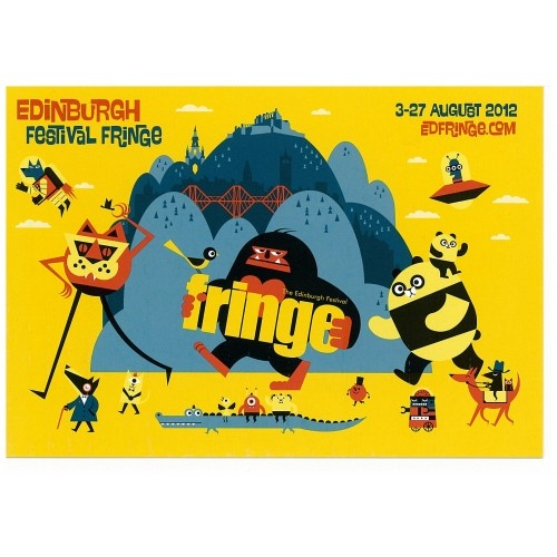 Edinburgh Festival Fringe Shop 2012.  a blast