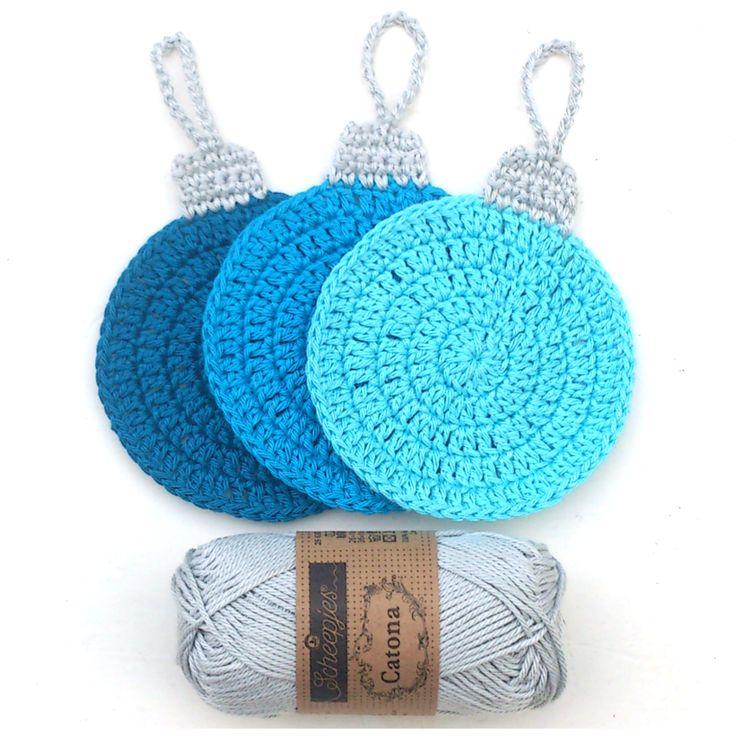 atty's: Crochet Christmas Coasters Cute coasters: Diagram Pattern