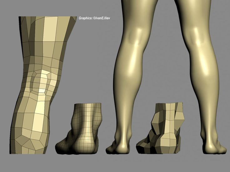 This is the third stage of my character modeling studies, the Leg and the Foot. Building a convincingly looking low-poly knee is not an easy task. I need another loop there to add some more details and achieve a better look. The main problem is that her destiny is still not clear. I think I have to ...