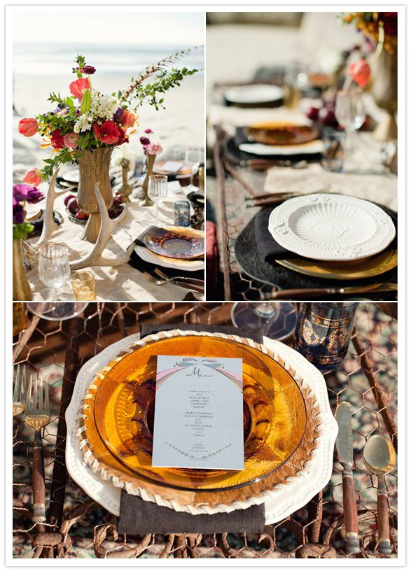 Bohemian wedding inspiration | Details + Decor, Inspiration Binder | 100 Layer Cake