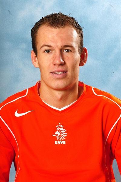 Young Arjen Robben