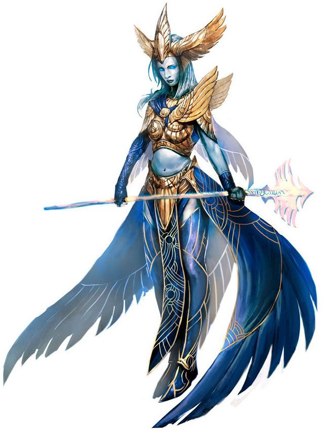 Avatar of Dwayna from Guild Wars Nightfall