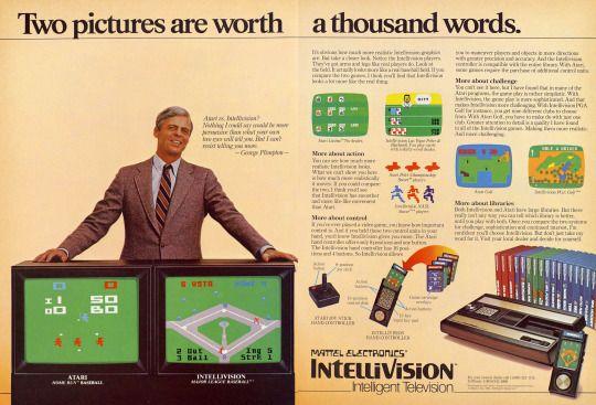 George Plimpton for Intellivision
