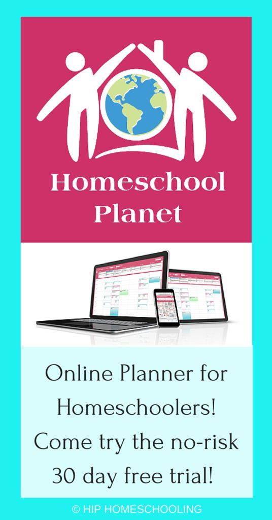 Check out this video review of Homeschool Planet Online Planner!