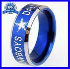 ♧❞ Dallas Cowboys Super #Bowl Championship #Mens Blue #NEW Tungsten Ring Shop now! http://ebay.to/2v0p9Q6