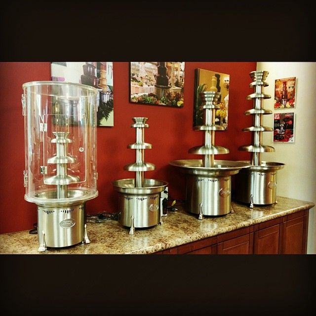 check out our sephra chocolate fountains and let us teach