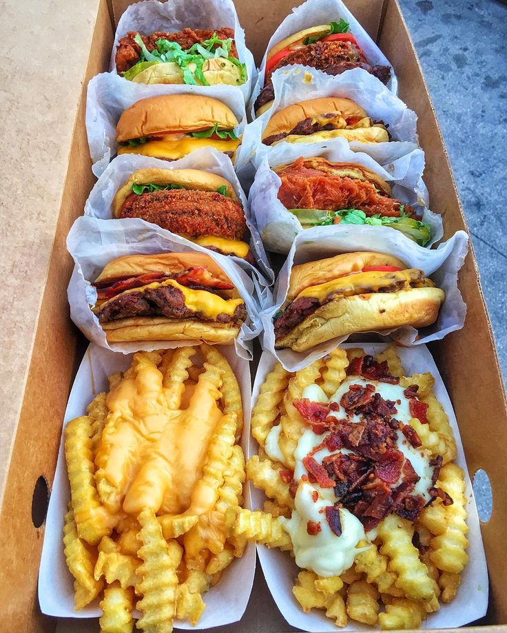Everything On The Menu At Shake Shack