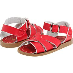 My girl has a pair coming for her 1st birthday! Red Salt-Water Sandals (Toddler Size)
