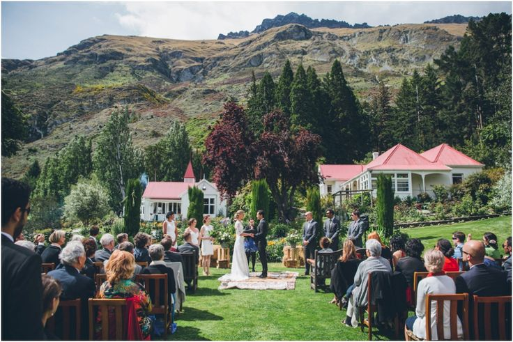 A wedding at the Walter Peak Homestead   #WalterPeak #NZweddings #Queenstown #RealJourneys #TSSEarnslaw #LakeWakatipu #NewZealand
